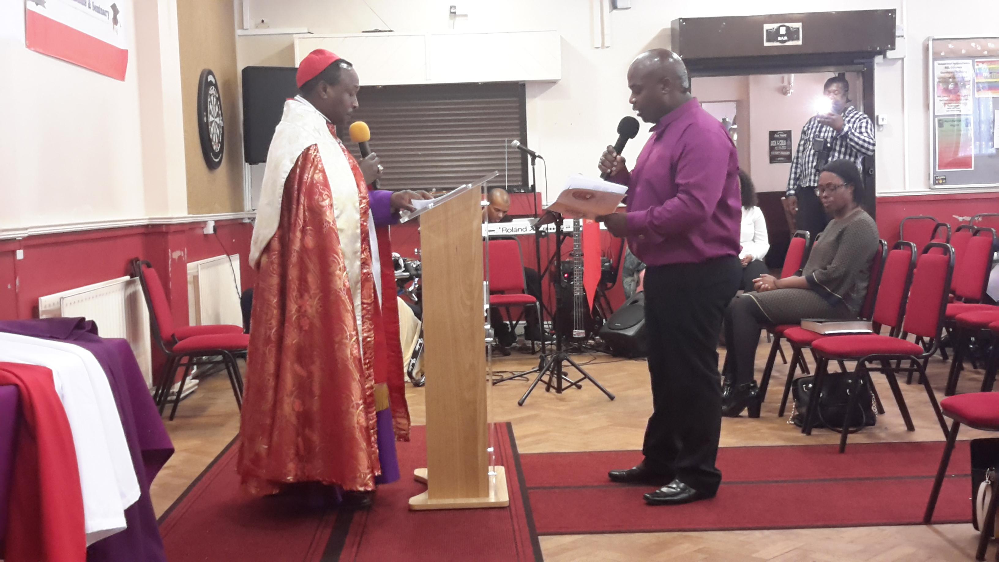 Bishop Dr. Mark Pearce Consecration