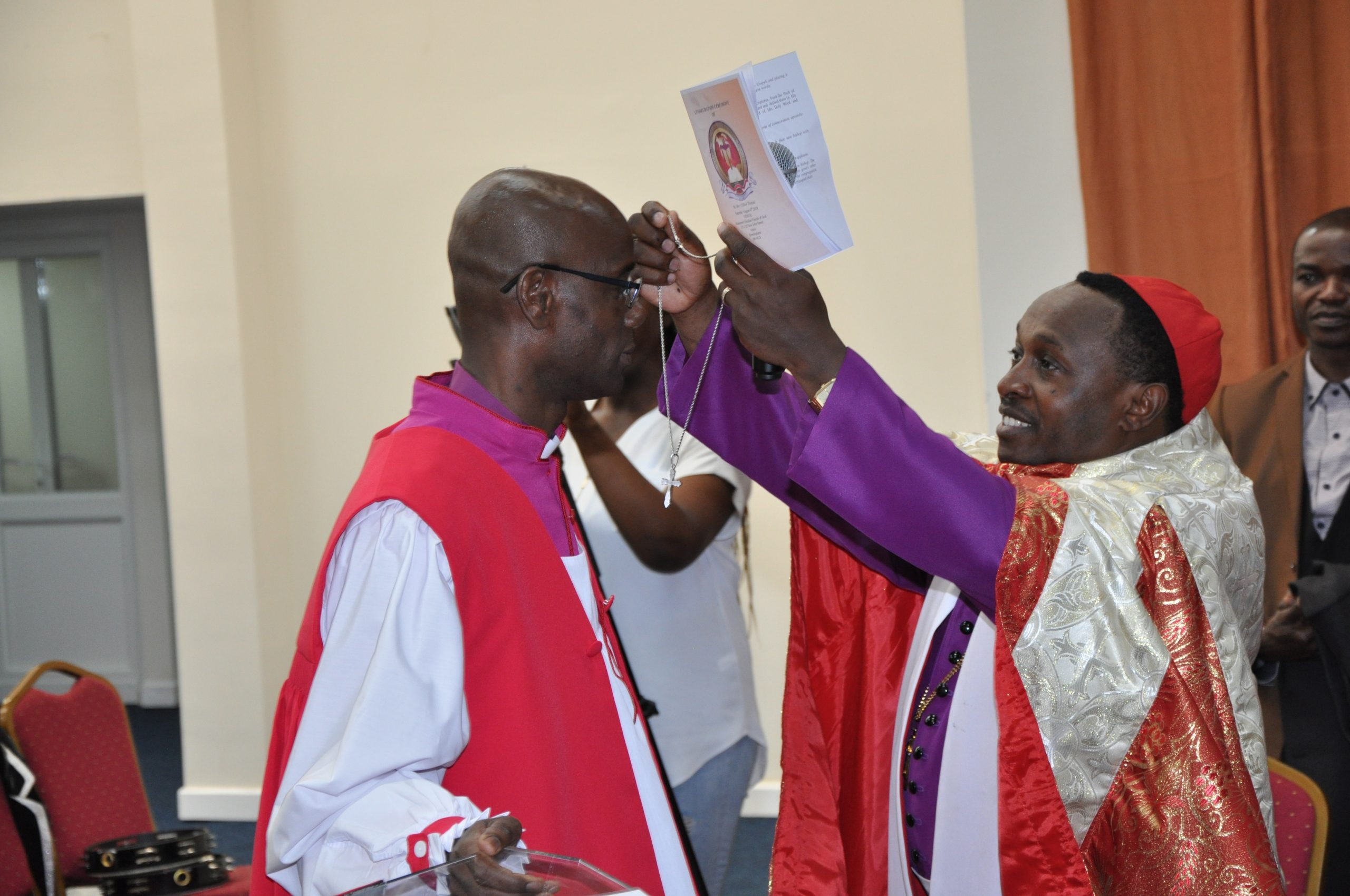 Bishop Dr. Clifton K. Thomas consecration by Archbishop William Kimando