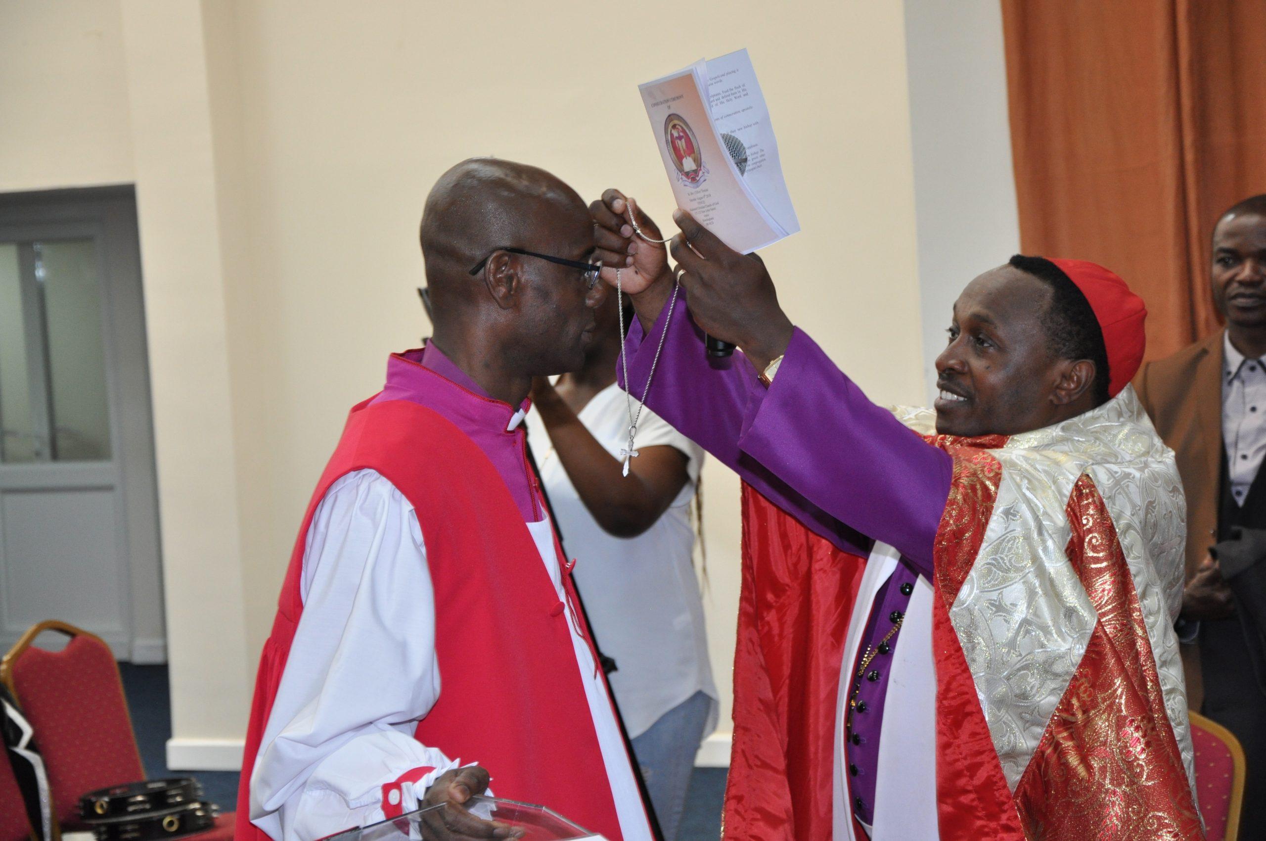 Bishop Dr. Clifton K. Thomas consecration by Archbishop William Kimando